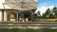 Проект особняка площадью 283 кв. м в стиле минимализма