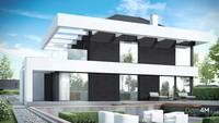 Стильный современный особняк с просторным гаражом