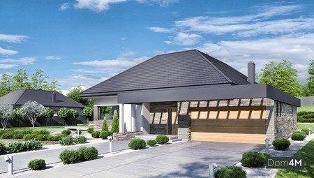 Восхитительный одноэтажный стильный особняк с вместительным гаражом