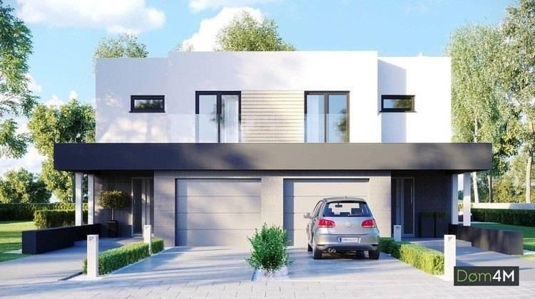 Таунхаус в стиле минимализма с просторными гостиными