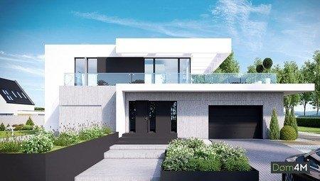 Стильный жилой дом с громадной верандой