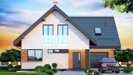 Интересный жилой дом с милыми балкончиками