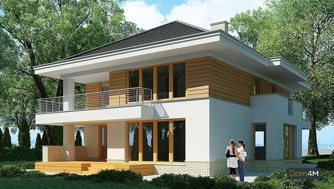 Великолепный проект для двухэтажного жилого дома