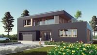 Роскошный двухэтажный жилой дом с гаражом на два автомобиля
