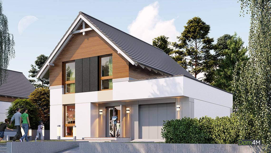 Красивый дом с просторной гостиной