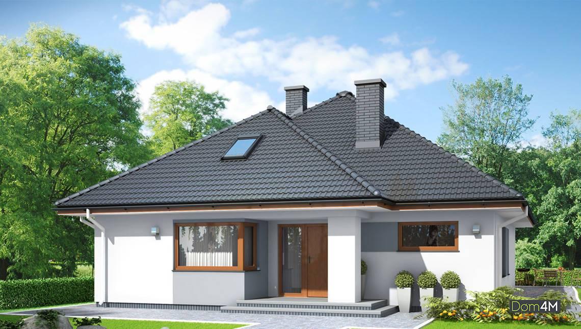 Современный дом с красивой гостиной