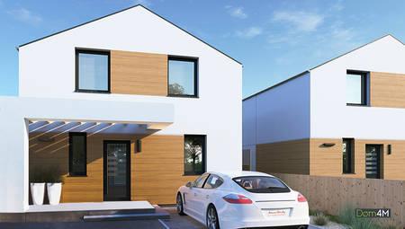 Двухэтажный коттедж жилой площадью свыше 80 квадратов