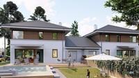 Проект жилого дома для проживания двух семей