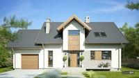 Проект для загородного жилого дома площадью 160м2