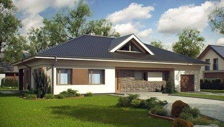 Проект комфортабельного дома с 4 спальнями