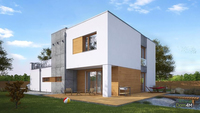 Великолепный современный особняк с гаражом на два автомобиля общей площадью 220 кв. м, жилой 86 кв. м