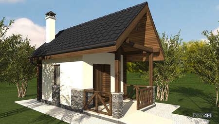 План хозяйственного помещения для хранения садового инвентаря и урожая площадью 20 кв. м