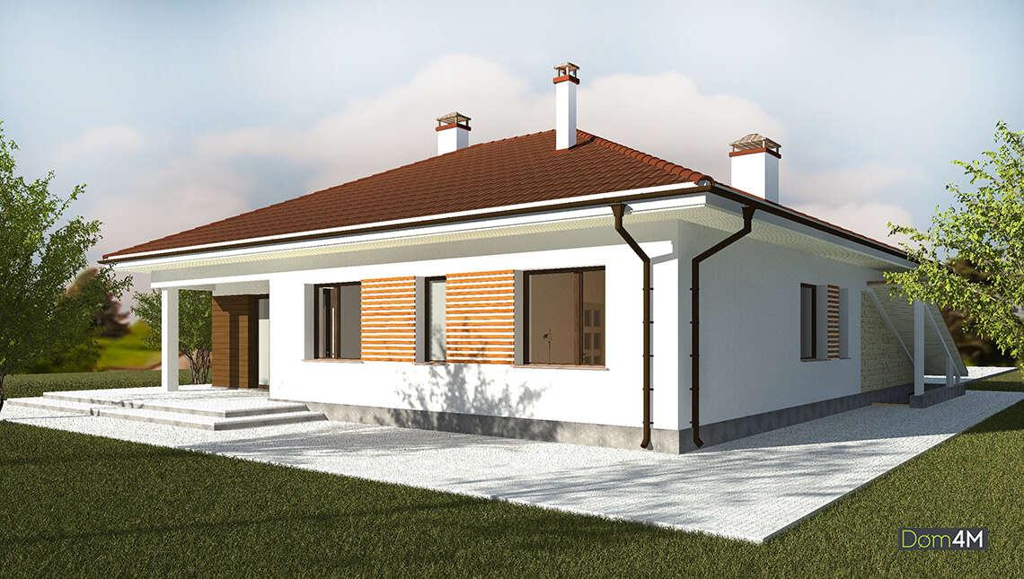 Современный комфортный дом для молодой семьи