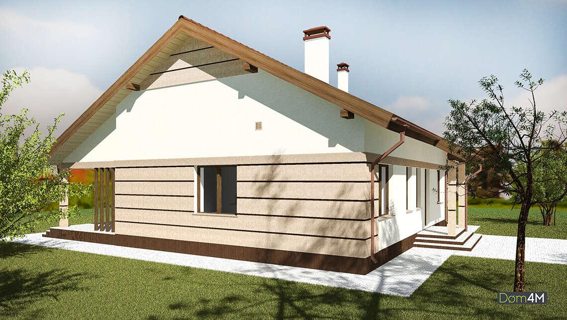 Стильный европейский дом с просторной террасой