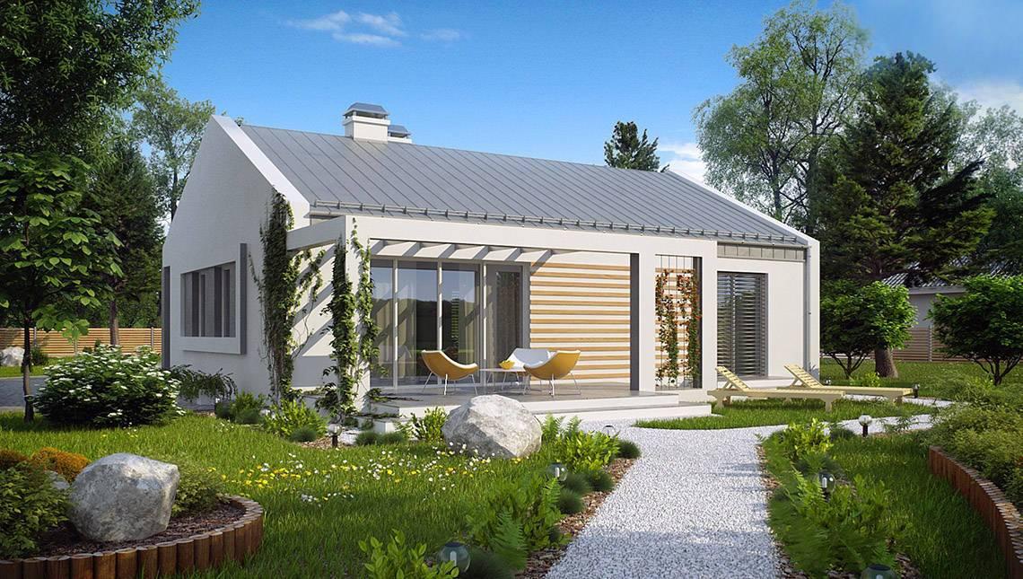 Небольшой современный энергосберегающий дом