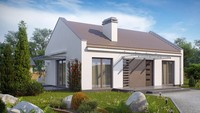 Современный проект одноэтажного пригородного дома