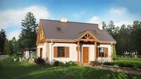 Проект для строительства загородного дома площадью 140 m²