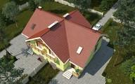Изысканный особняк со стильной многоскатной крышей