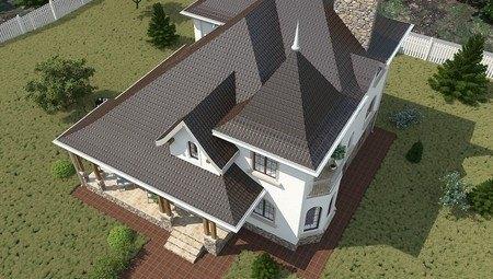 Проект дома с цокольным этажом
