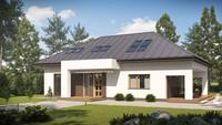 Версия проекта 4M508 с современным фасадом дома