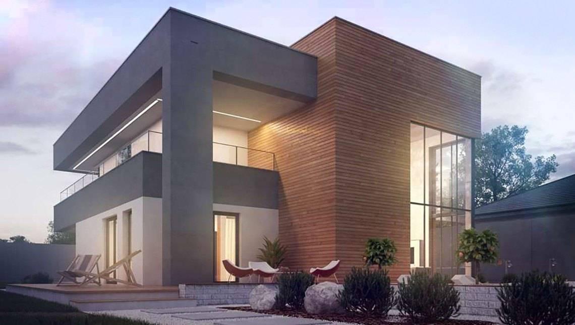 Шикарный современный двухэтажный коттедж со вторым светом