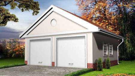 Проект традиционного гаража