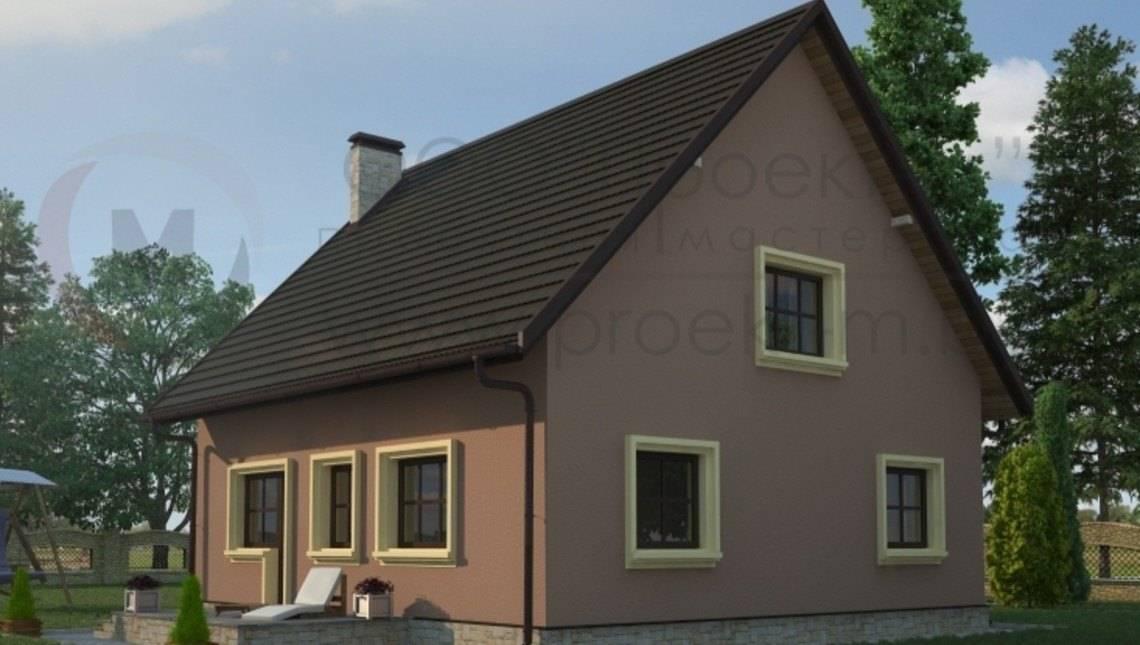 Простой в реализации загородный дом