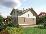 Проект стильного недорогого в строительстве загородного дома
