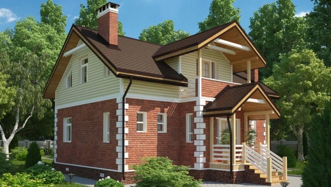 Проект симпатичного дома площадью 180 m²
