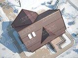 Проект уютного загородного коттеджа площадью 220 m²