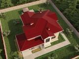 Проект загородного дома с террасой и вторым светом на 2 этаже