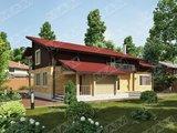 Проект для строительства загородного жилого коттеджа со вторым светом