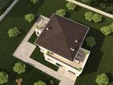 Удобно спланированный жилой коттедж с террасой и гаражом для 1 авто