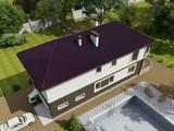 Интересный проект узкого двухэтажного дома