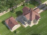 Архитектурный проект загородной усадьбы на 222 m²