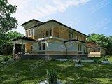 Проект необычного коттеджа 280 m²