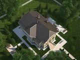Проект жилого загородного коттеджа в аристократическом стиле