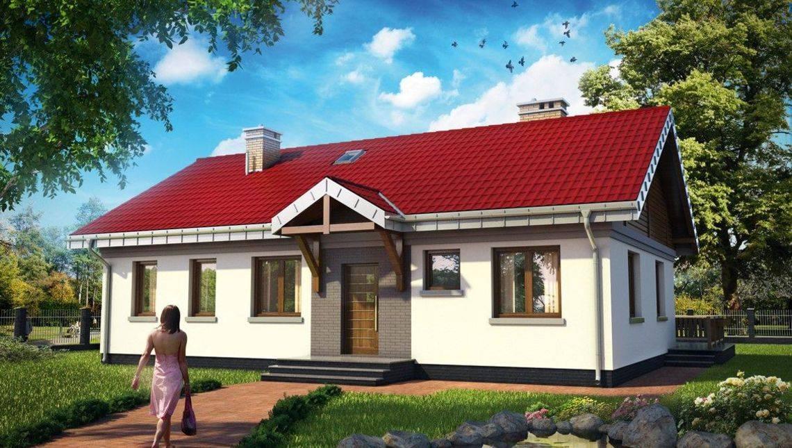 Небольшое строение с просторной кухней