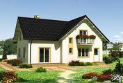 Жилой дом с шестью спальнями на два этажа