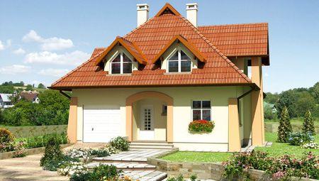 Примечательный проект небольшого особняка более 200 m²