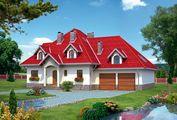 Симпатичный загородный дом с семью уютными комнатами