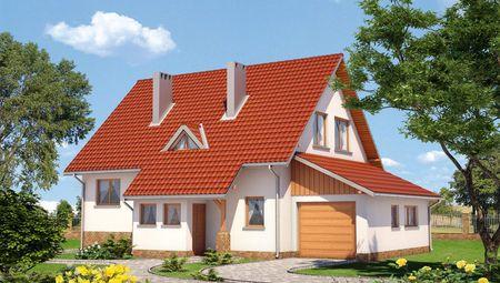 Стильный загородный коттедж с пятью удобными комнатами