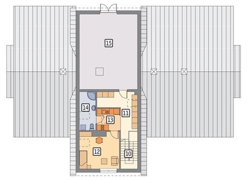 Проект конюшни с комнатой для обслуживающего персонала