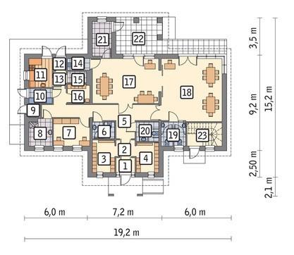 Проект двухэтажного торгового комплекса универсального назначения