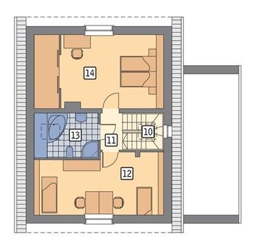 Уютный жилой дом на 4 спальни