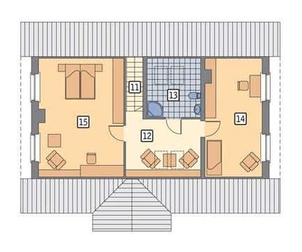 Аккуратный жилой дом с гаражом