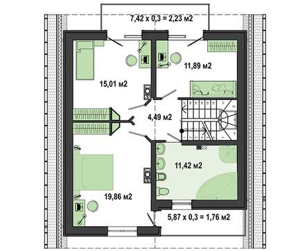 Восхитительный двухэтажный дом на 5 спален