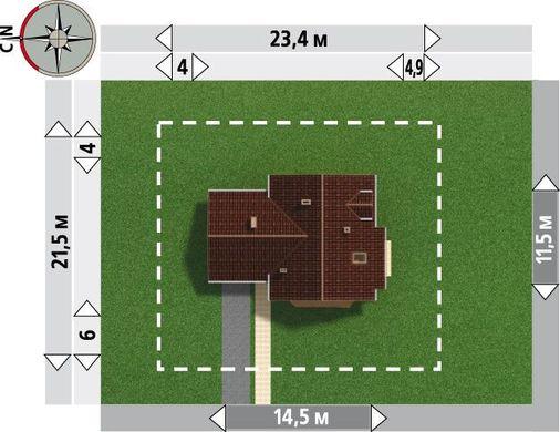 Проект стильного особняка с комфортабельными комнатами