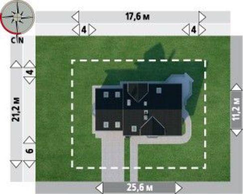 Проект просторного дома 17 на 11