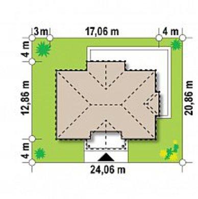 Проект представительного двухэтажного коттеджа